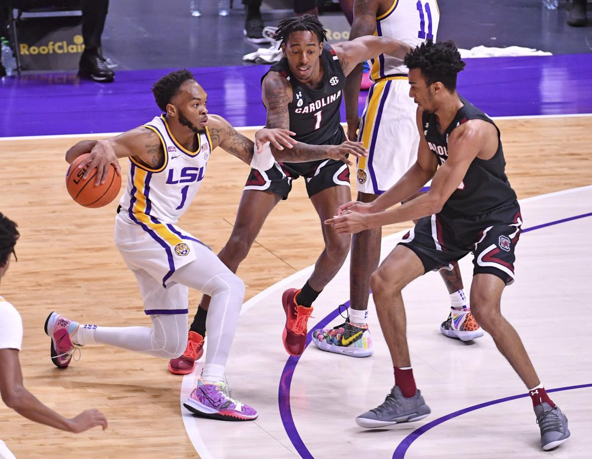 South Carolina LSU Basketball