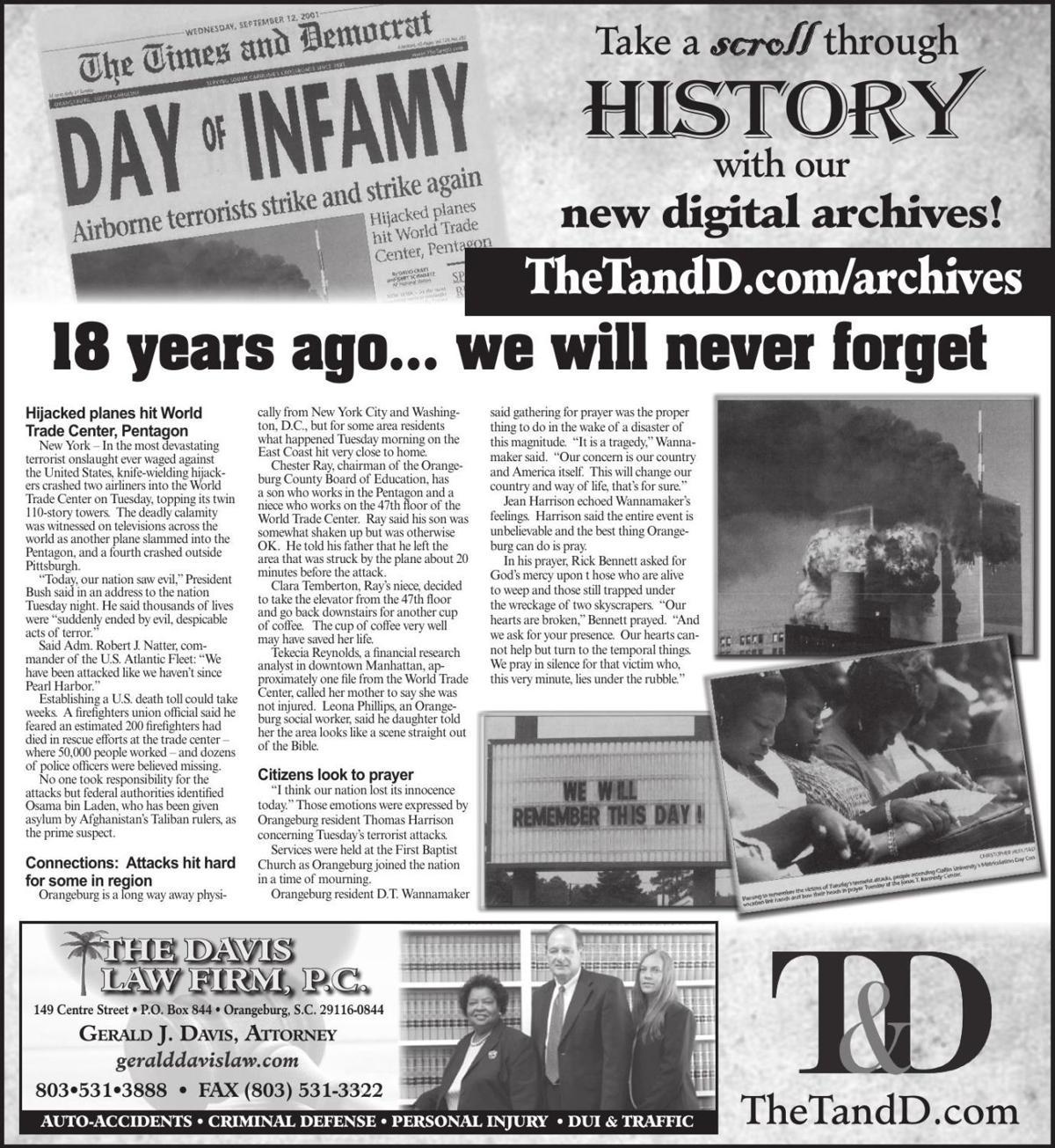 TheTandD.com/archives Sept. 8, 2019