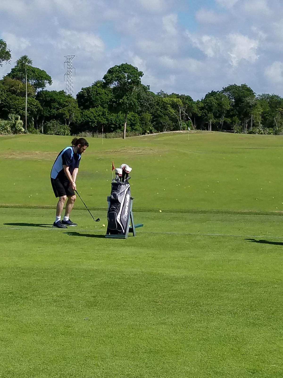 Golf lovers will love the top rated course at Riviera Maya Golf Club.