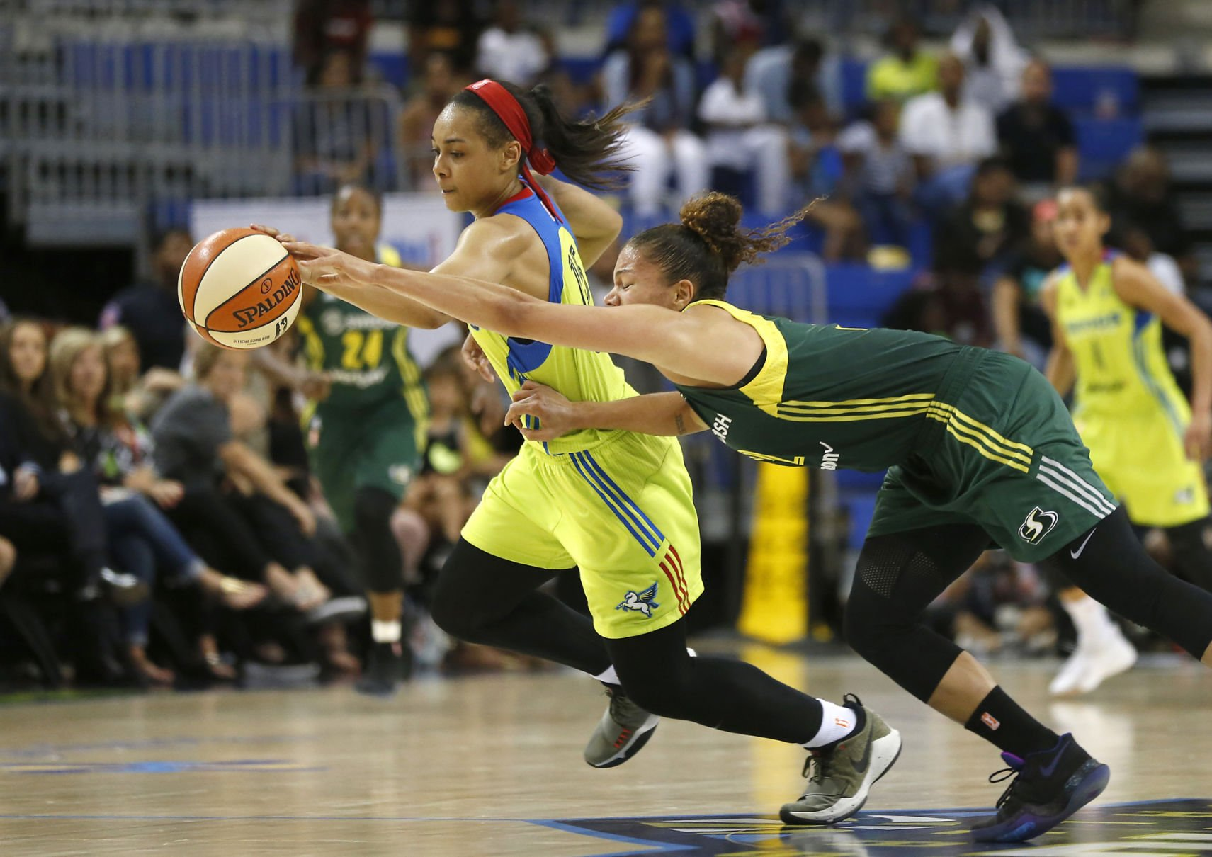 Dallas Wings guard Allisha Gray named WNBA Rookie of the Year