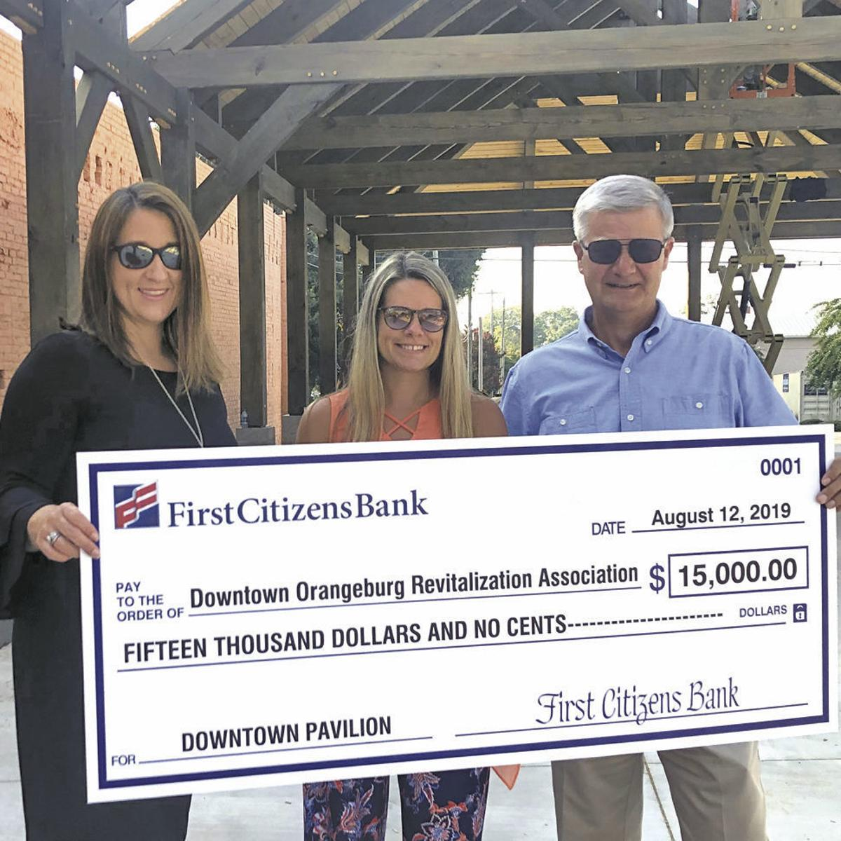 First Citizens donates to DORA pavilion project | Local