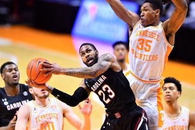South Carolina Tennessee Basketball