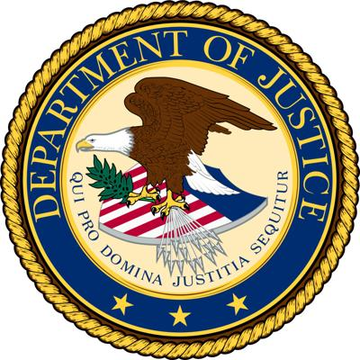 United State Department of Justice Logo