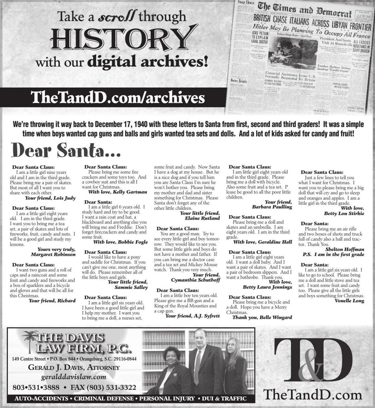 TheTandD.com/archives Dec. 15, 2019