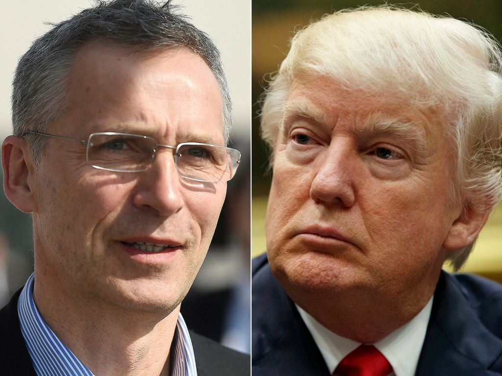Stoltenberg and Trump