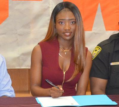 O-W's White signs with S.C. State track