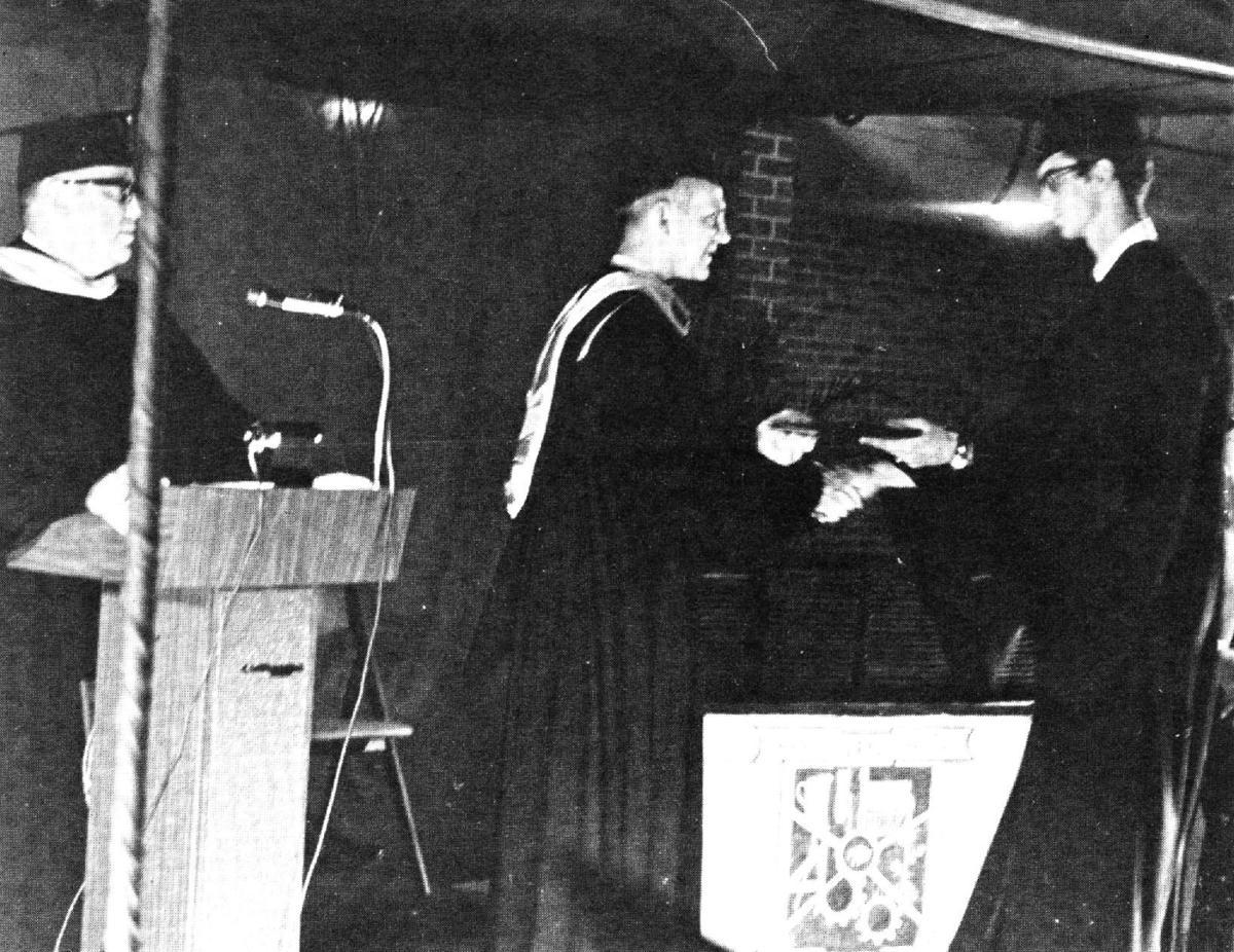 David Abstance -- first associate degree
