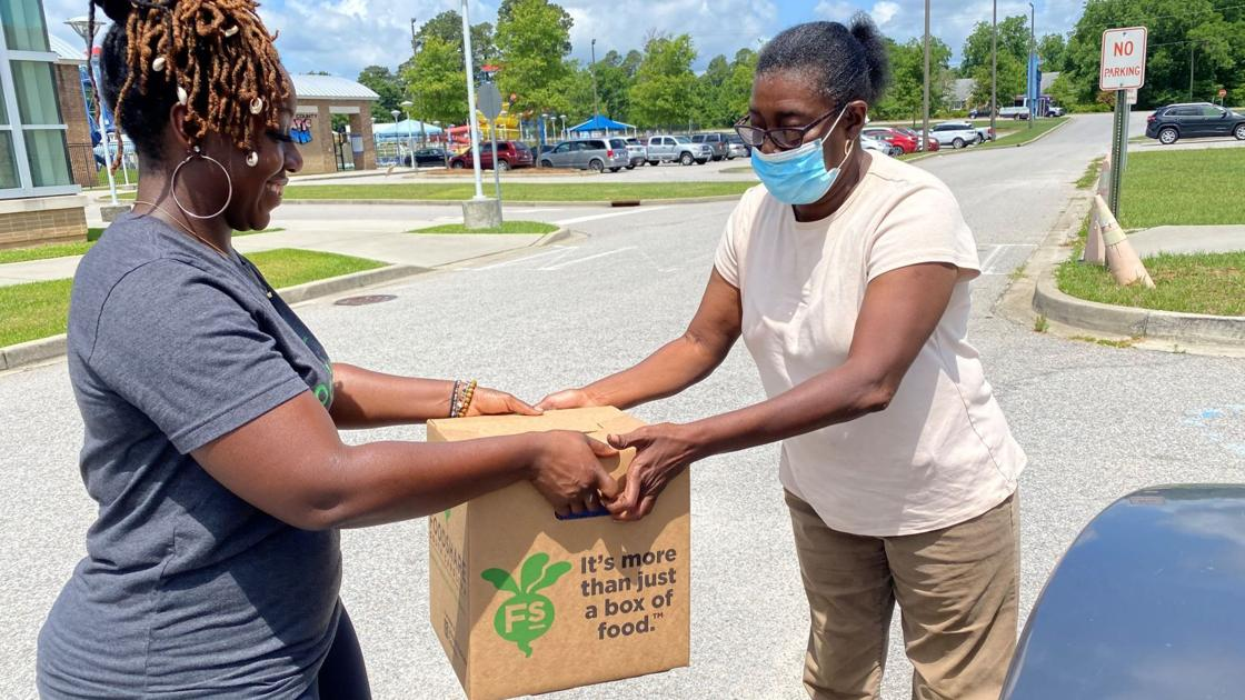 Non-profit steps up with food during pandemic