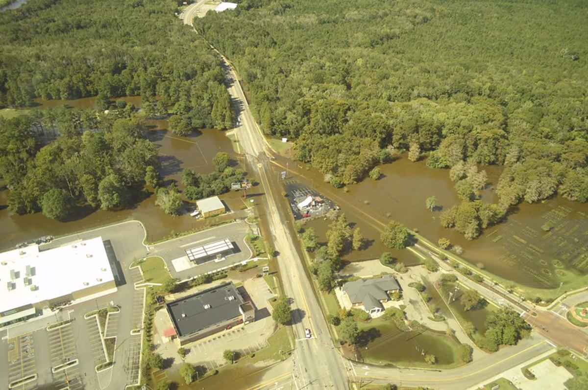 WED crapse edisto flooding aerial 2