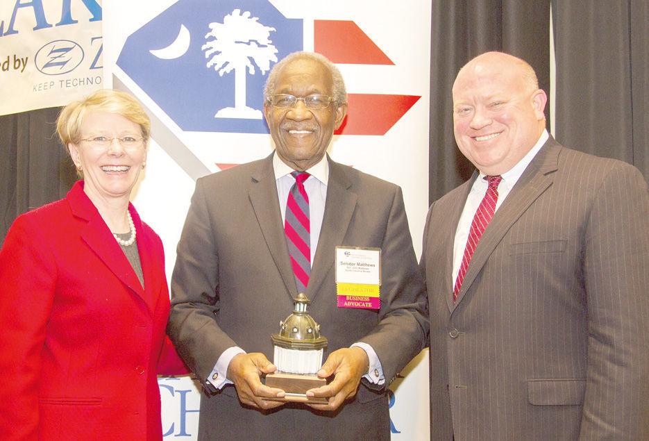 Chamber award in 2015