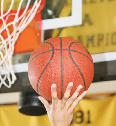 LIBRARY basketball logo