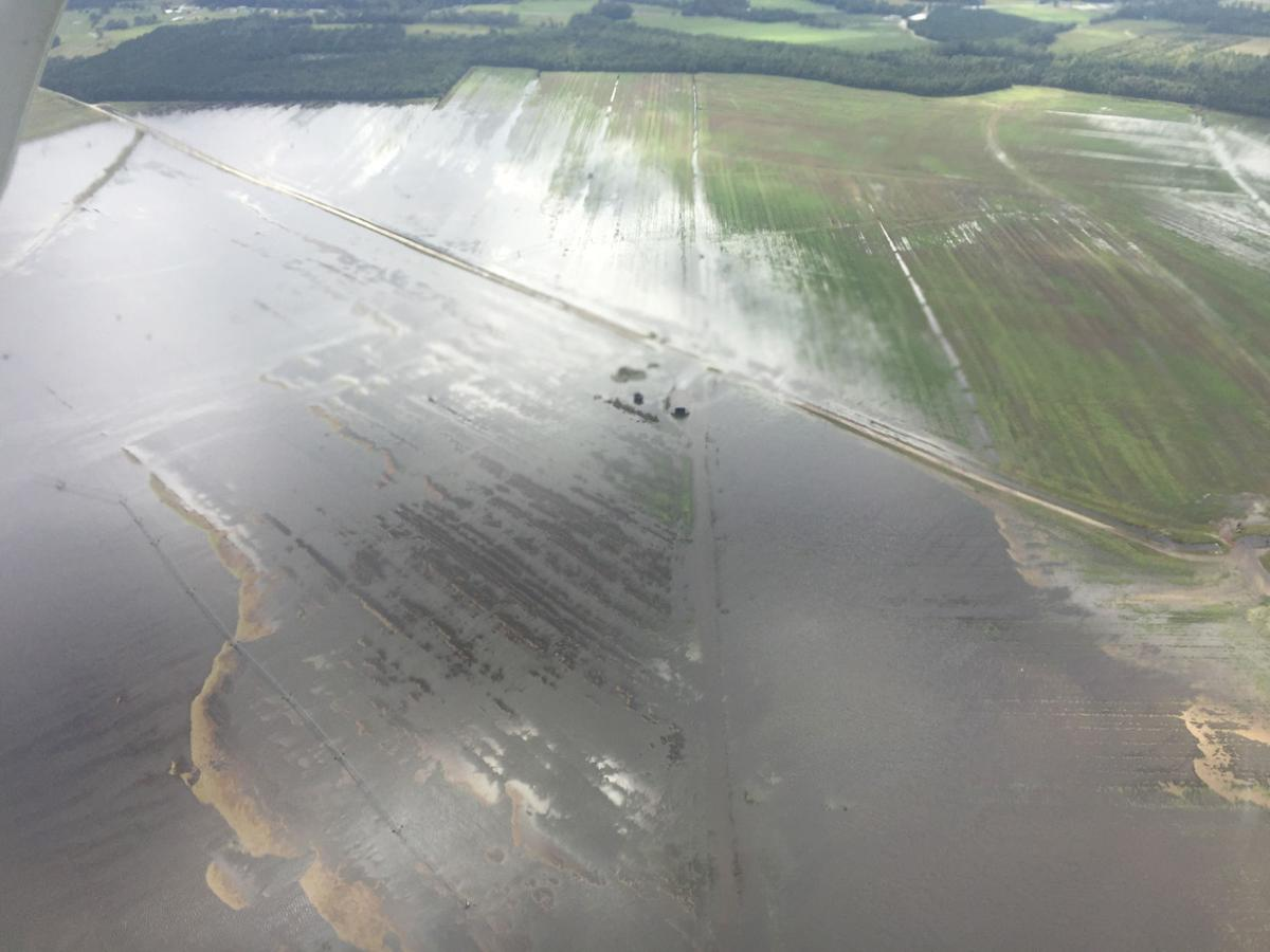 Farm flooding