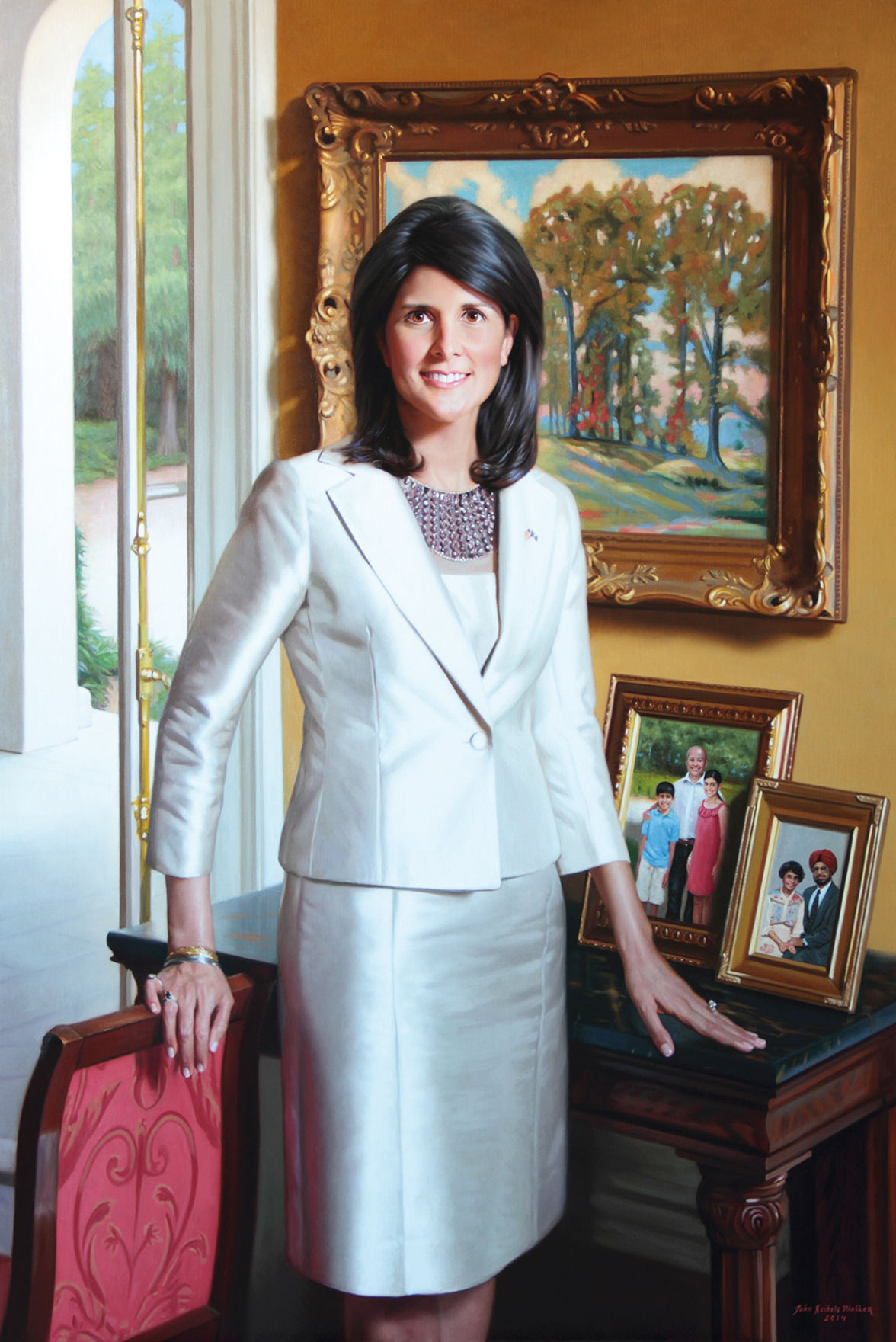Official portrait of Gov. Nikki Haley unveiled during inauguration week | News | thetandd.com
