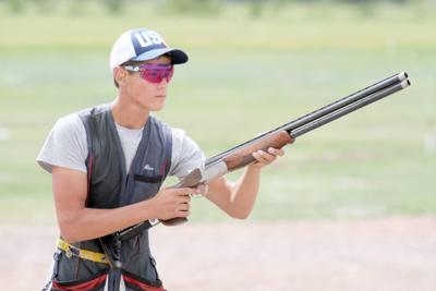 Ahlin competes in national event