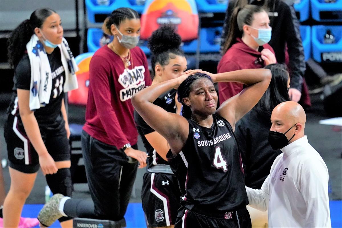 APTOPIX NCAA Final Four South Carolina Stanford Basketball