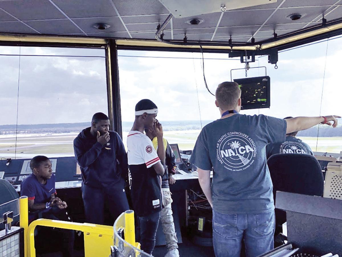 Air traffic control center