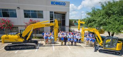Kobelco Construction Machinery Co  establishing plant in Spartanburg