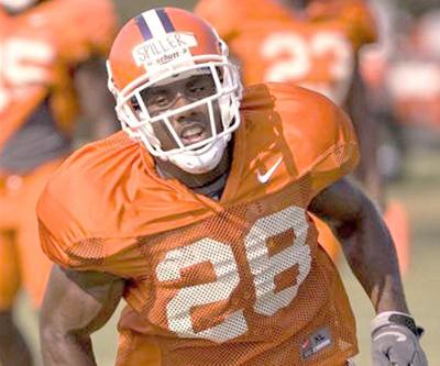Clemson Spiller Run Football