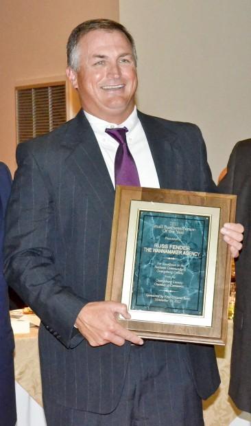 Chamber banquet 2012 Russ Fender