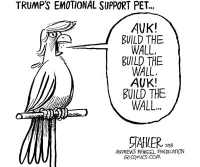 Trump's emotional support pet