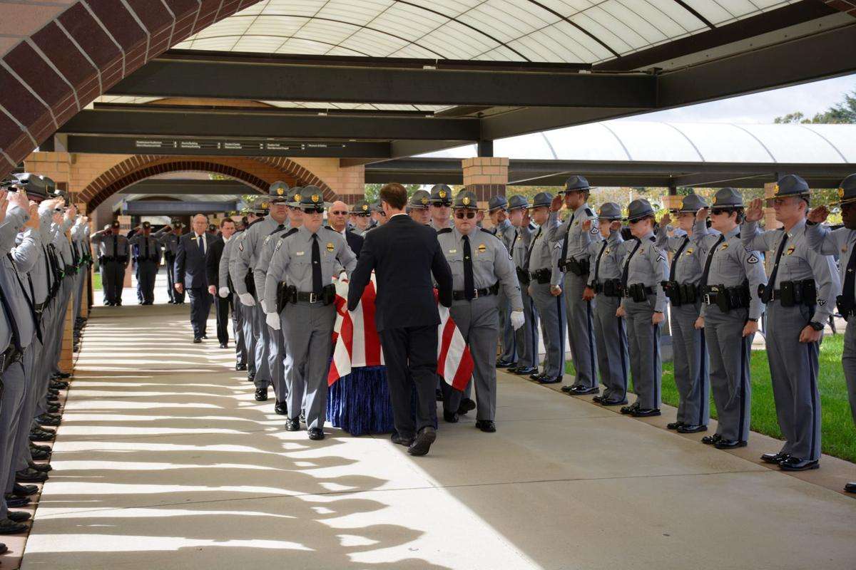 Trooper laid to rest