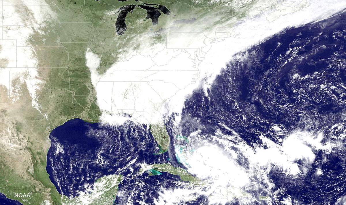 East Coast Rainstorm