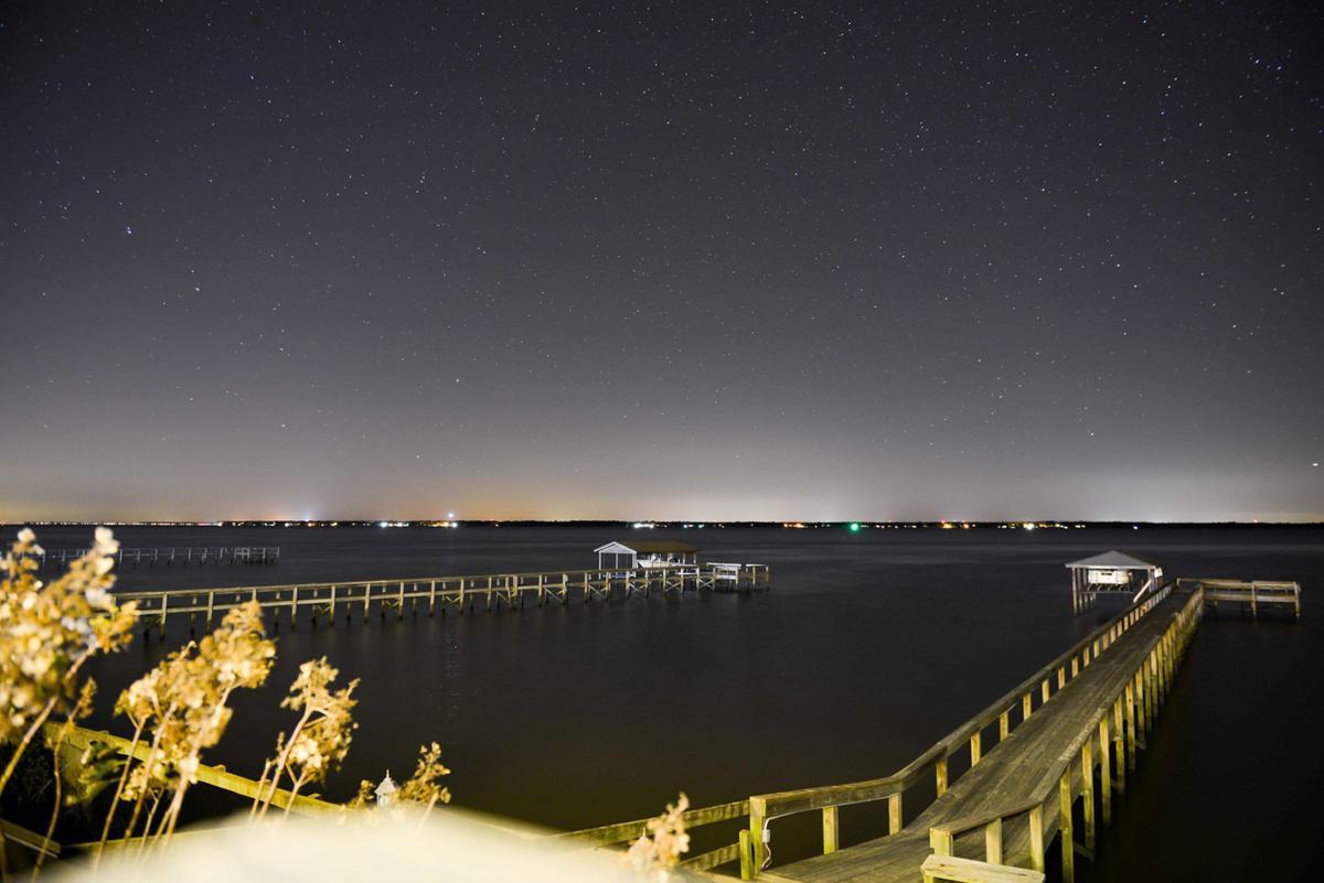Lake Marion by night
