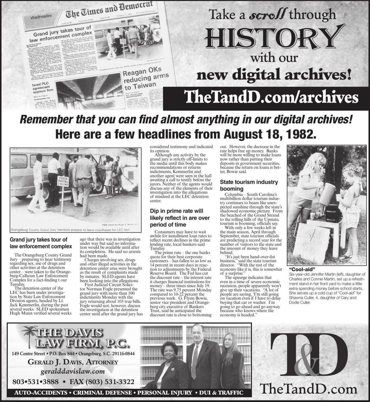 TheTandD.com/archives Aug. 18, 2019