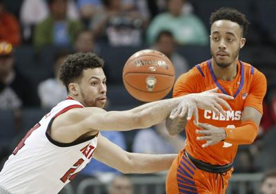 ACC Clemson NC State Basketball