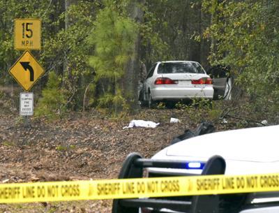 Wrecked car found on Magnolia (copy)