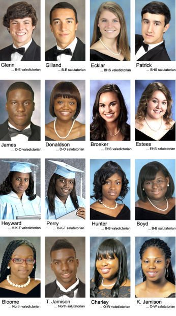 Schools hold commencement exercises