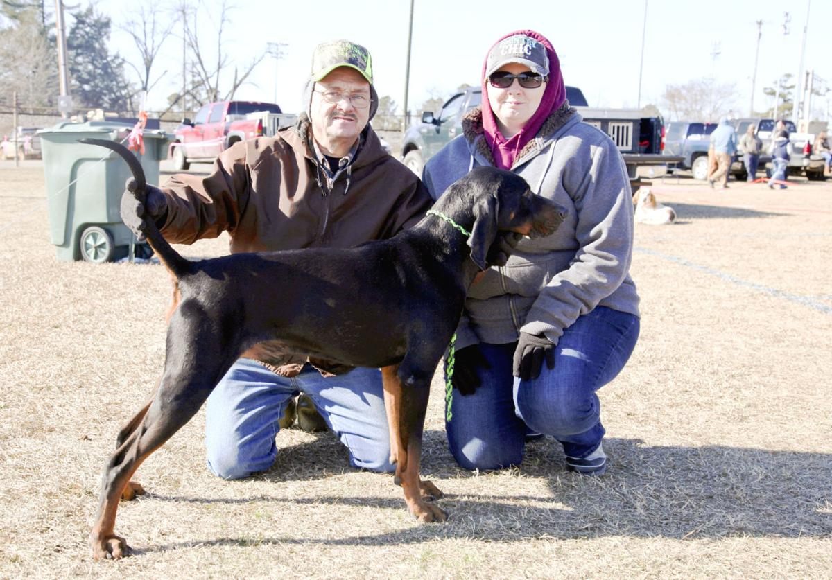 2018 Grand American Coon Hunt >> Coon hunting preacher and his dog, Chicken Stomp, visit The Grand American | News | thetandd.com