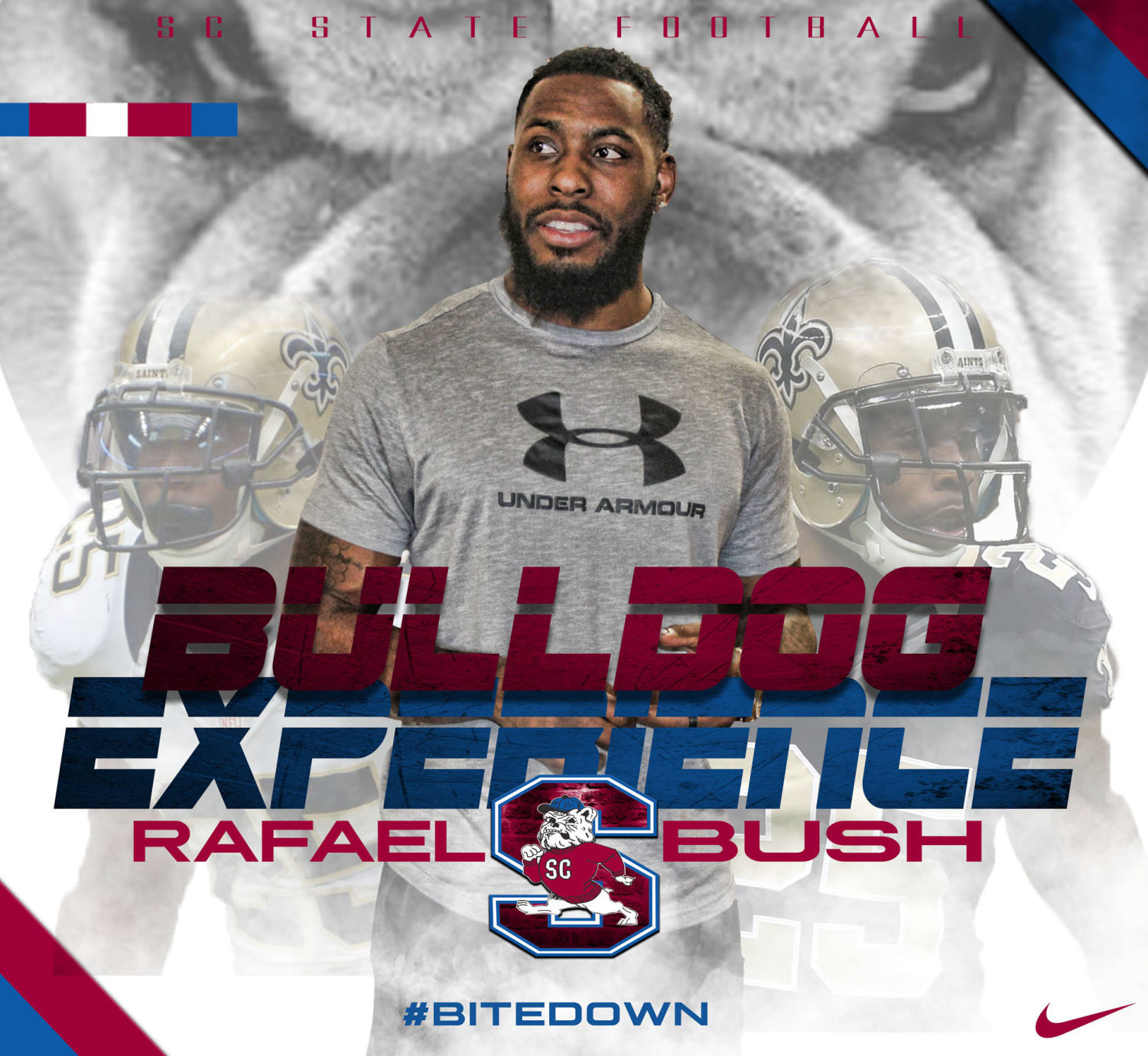 S.C. STATE FOOTBALL: Rafael Bush challenges Bulldogs to become ...