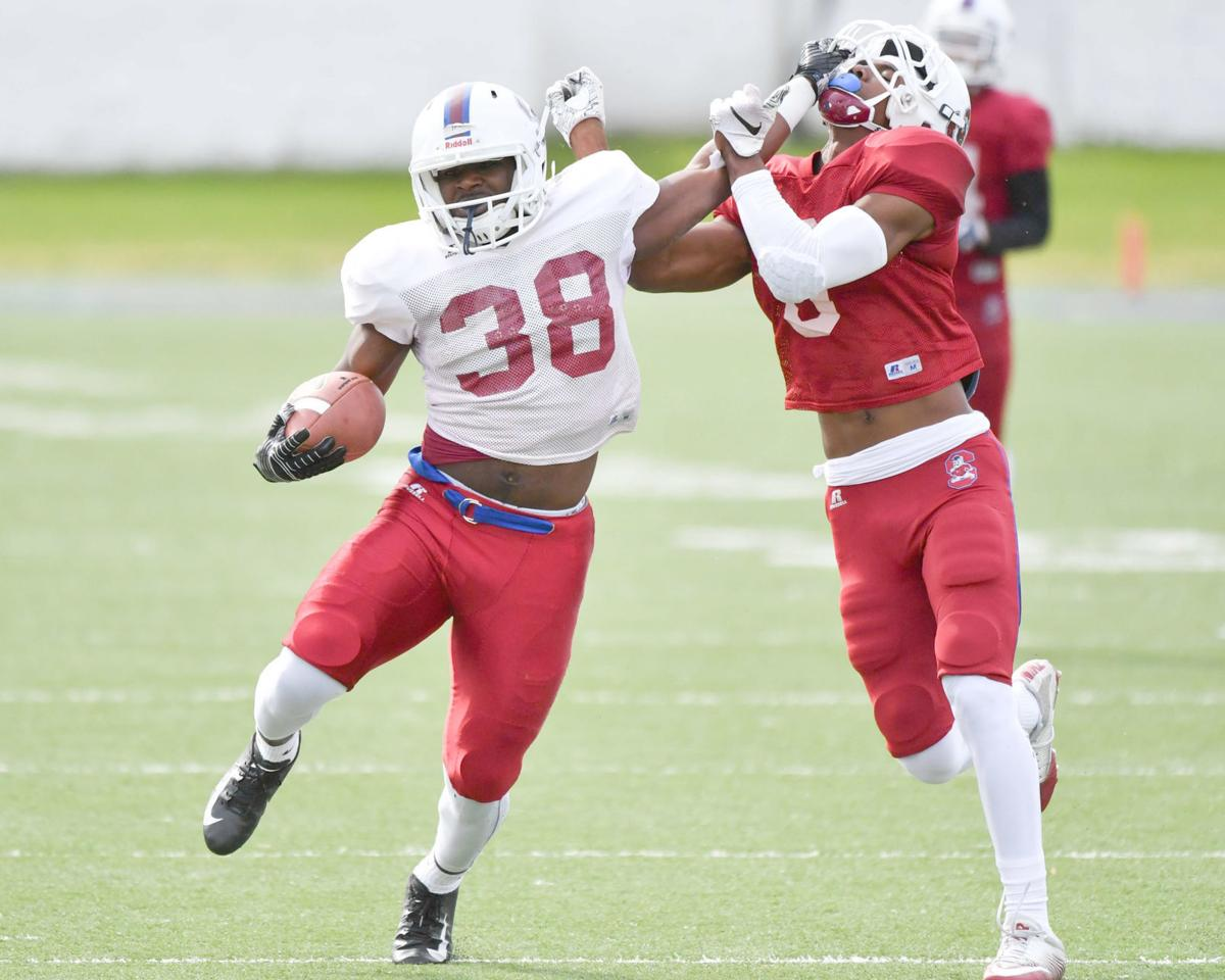 SC State scrimmage No. 1 running play