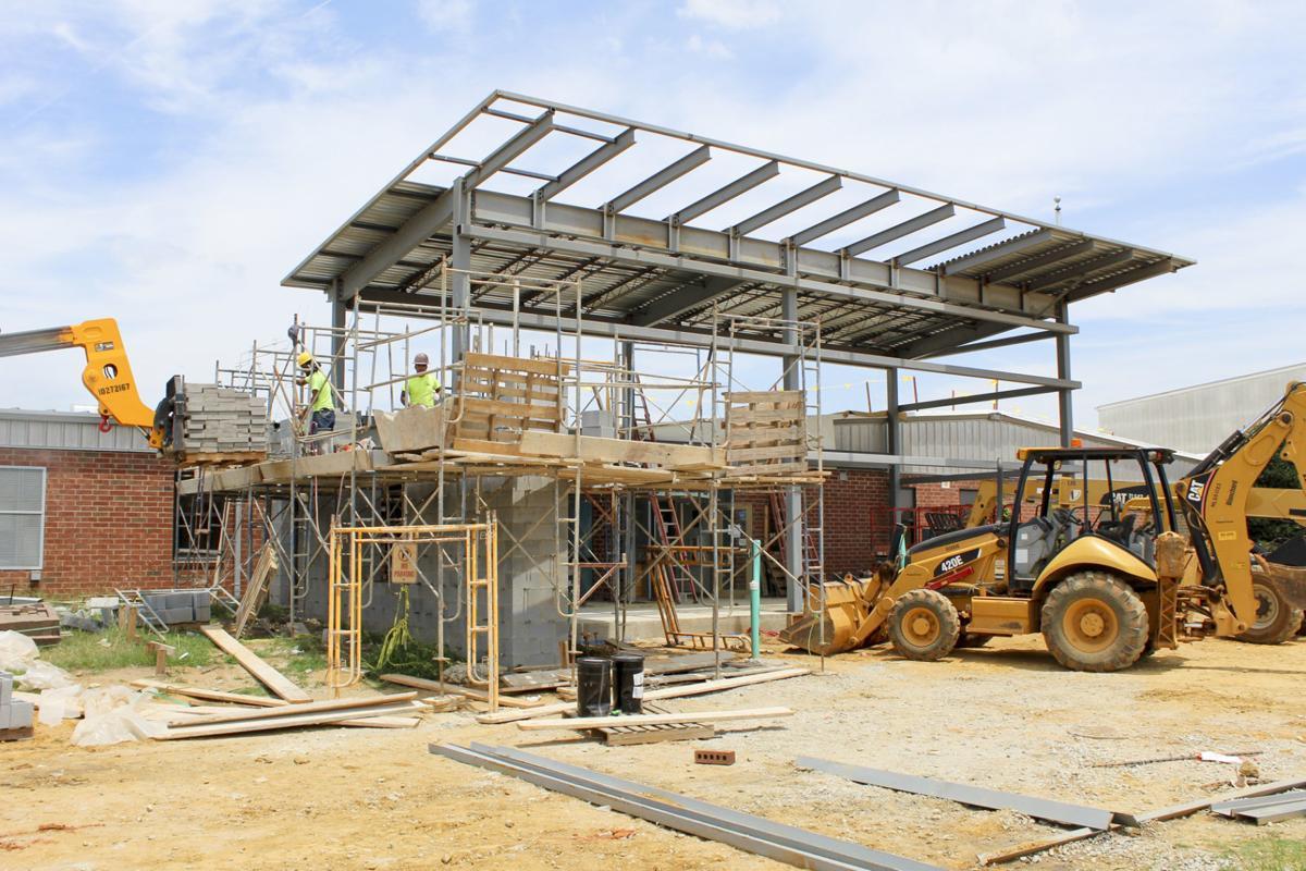 Denmark-Olar School Construction