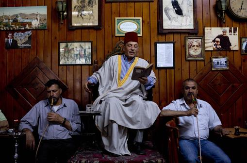 APTOPIX Mideast Syria Storyteller