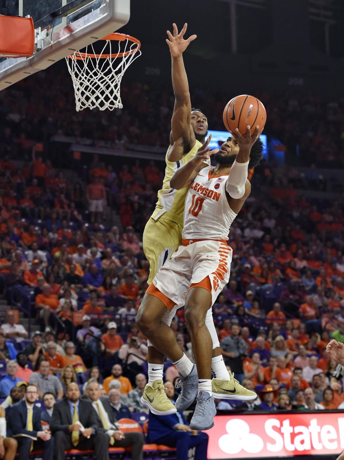 Georgia Tech Clemson Basketball
