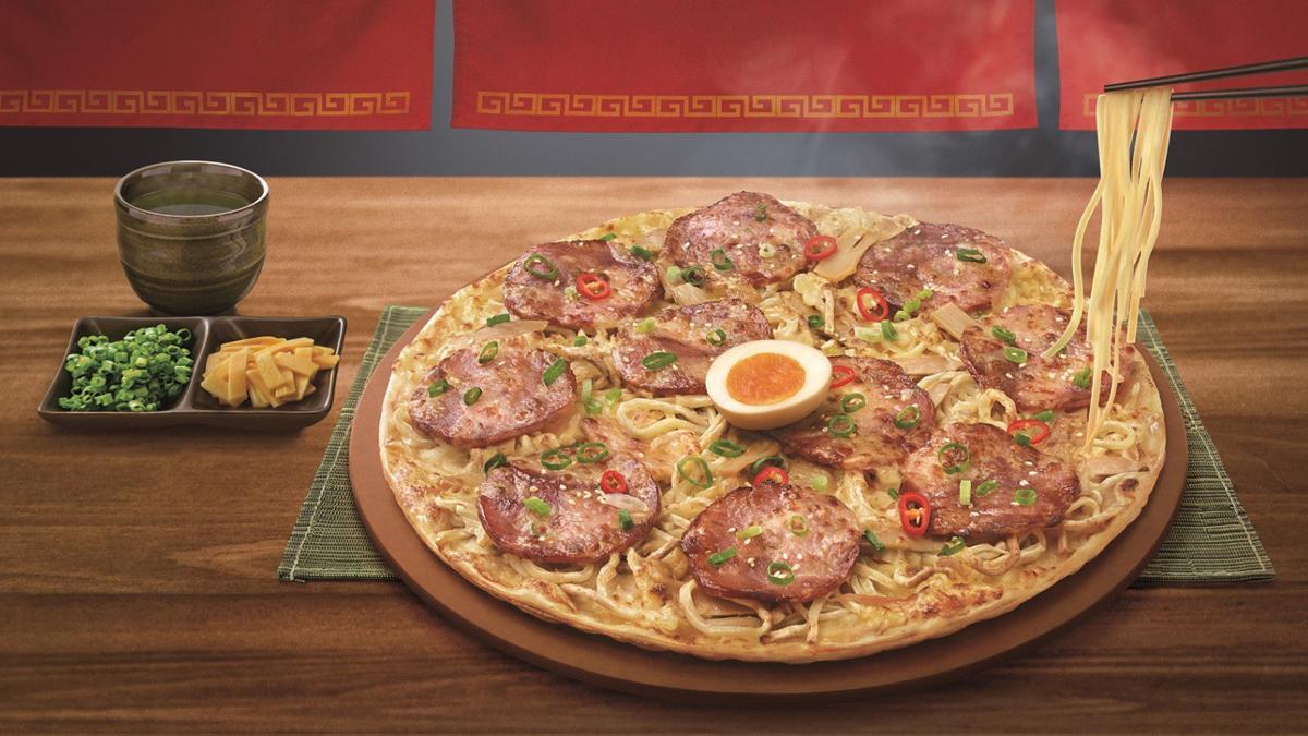 Ramen pizza? Crazy mashup revealed by Pizza Hut Taiwan
