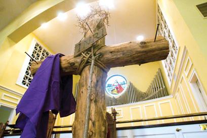 Easter symbols cross