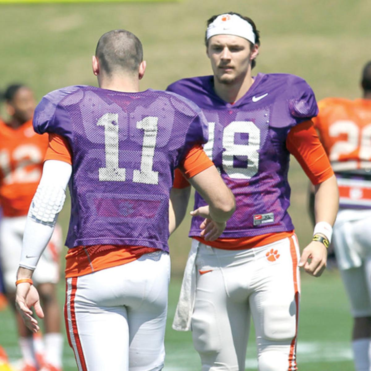 Swinney Says Cole Stoudt Will Be Clemson S Starting Quarterback Sports Thetandd Com