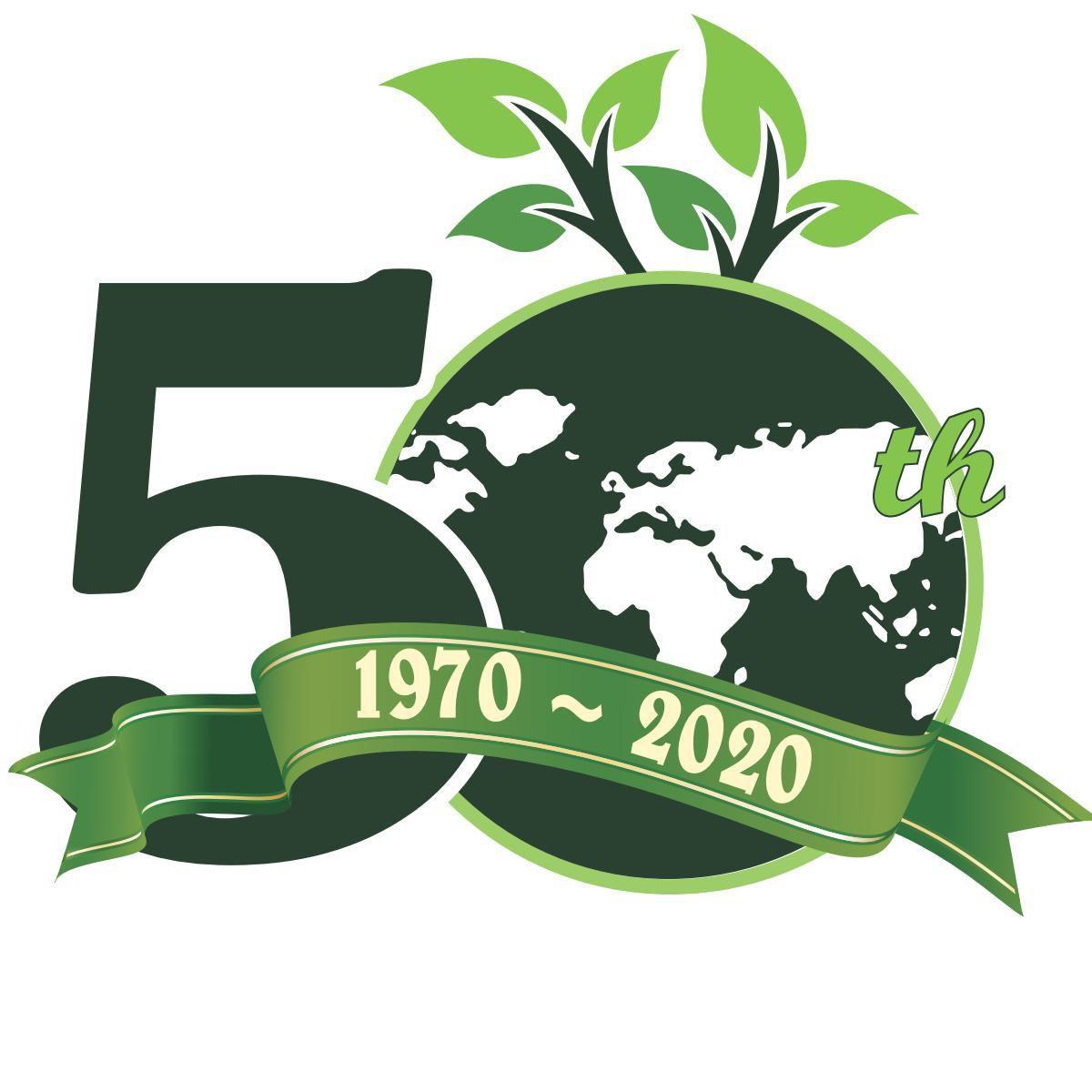 Earth Day 50th Logo