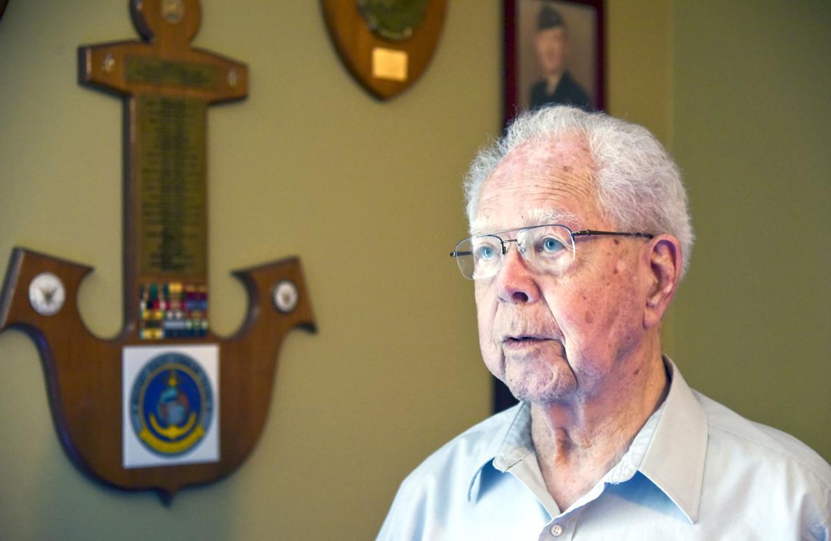Retired U.S. Navy Senior Chief Yeoman Richard Brownell