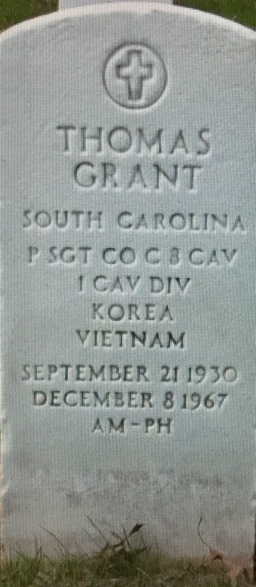 Sgt. Thomas Grant