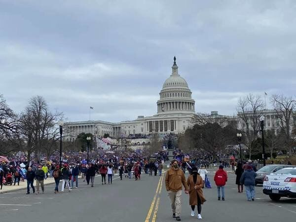 Local woman organizes group for 'peaceful' protest in D.C.