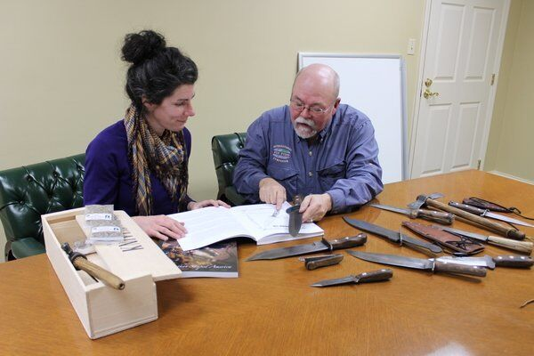 'Blades the Shaped America': Local author, artist recreate history through book about knives