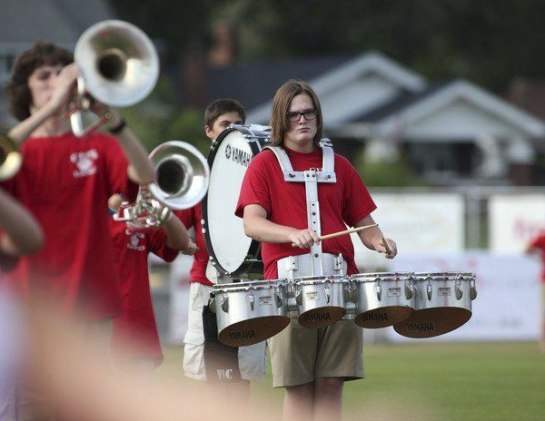 Corbin athletes introduced during 'Meet The Redhounds'