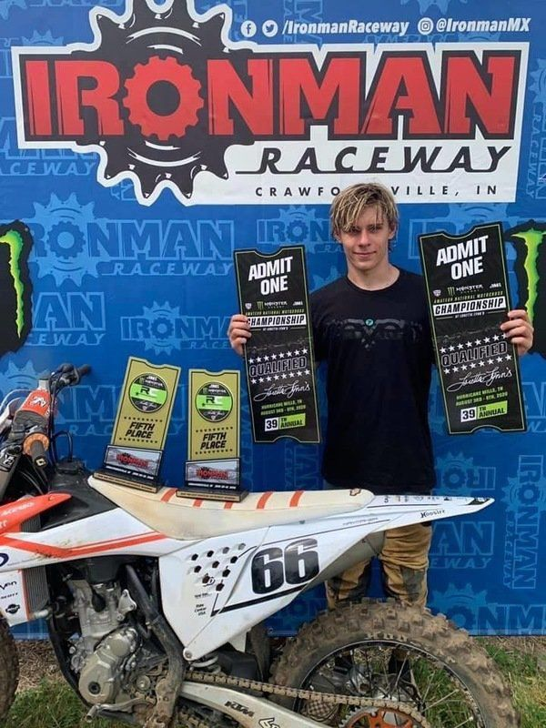 Local racer advances to national motocross championship