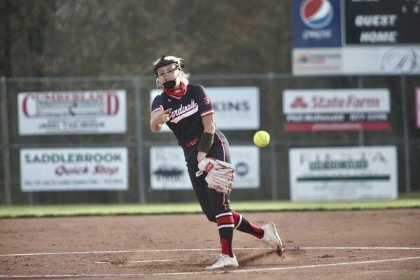 Six-run third inning leads to Lady Cardinal win