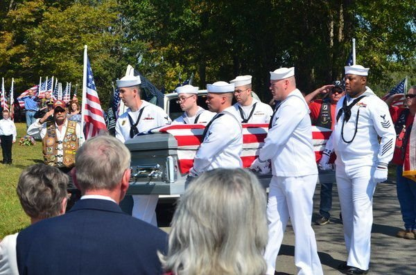 World War II sailor laid to rest at Corinth Cemetery in Corbin