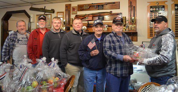 <span>XPO Logistics donates gift baskets to American Legion</span>